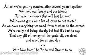 Wedding Money Tree Verse
