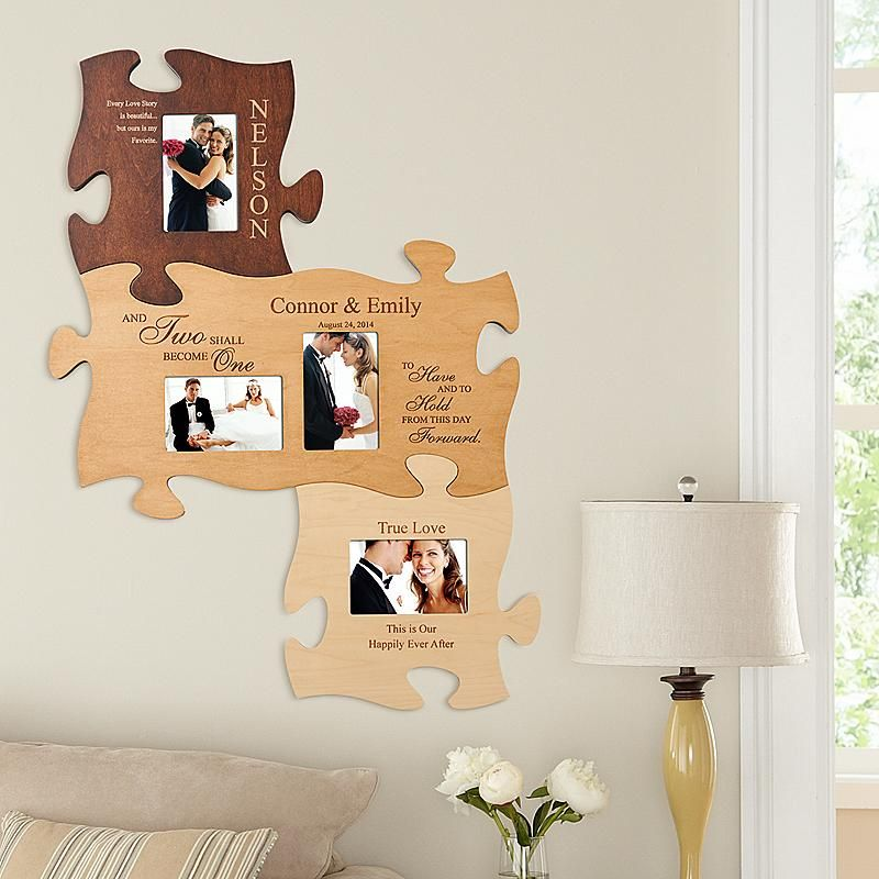 Two Become One Puzzle Set | Photo puzzle and Decoration