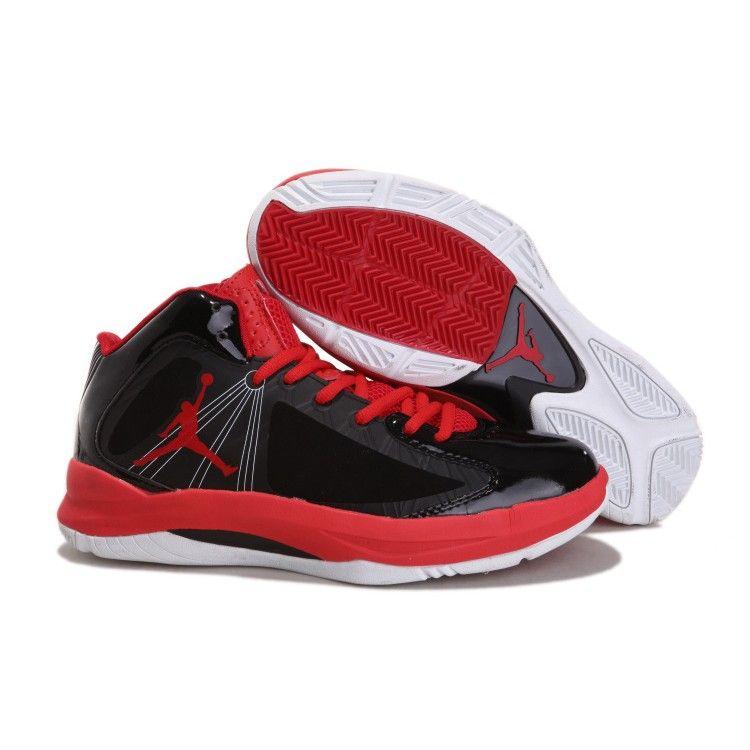 Air Jordan Aero Flight Nike Zoom Flywire Mid Black Red | Air