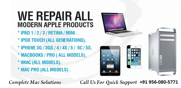 Apple Mac Book Air/Pro Laptop Repair & Service In Gurugram