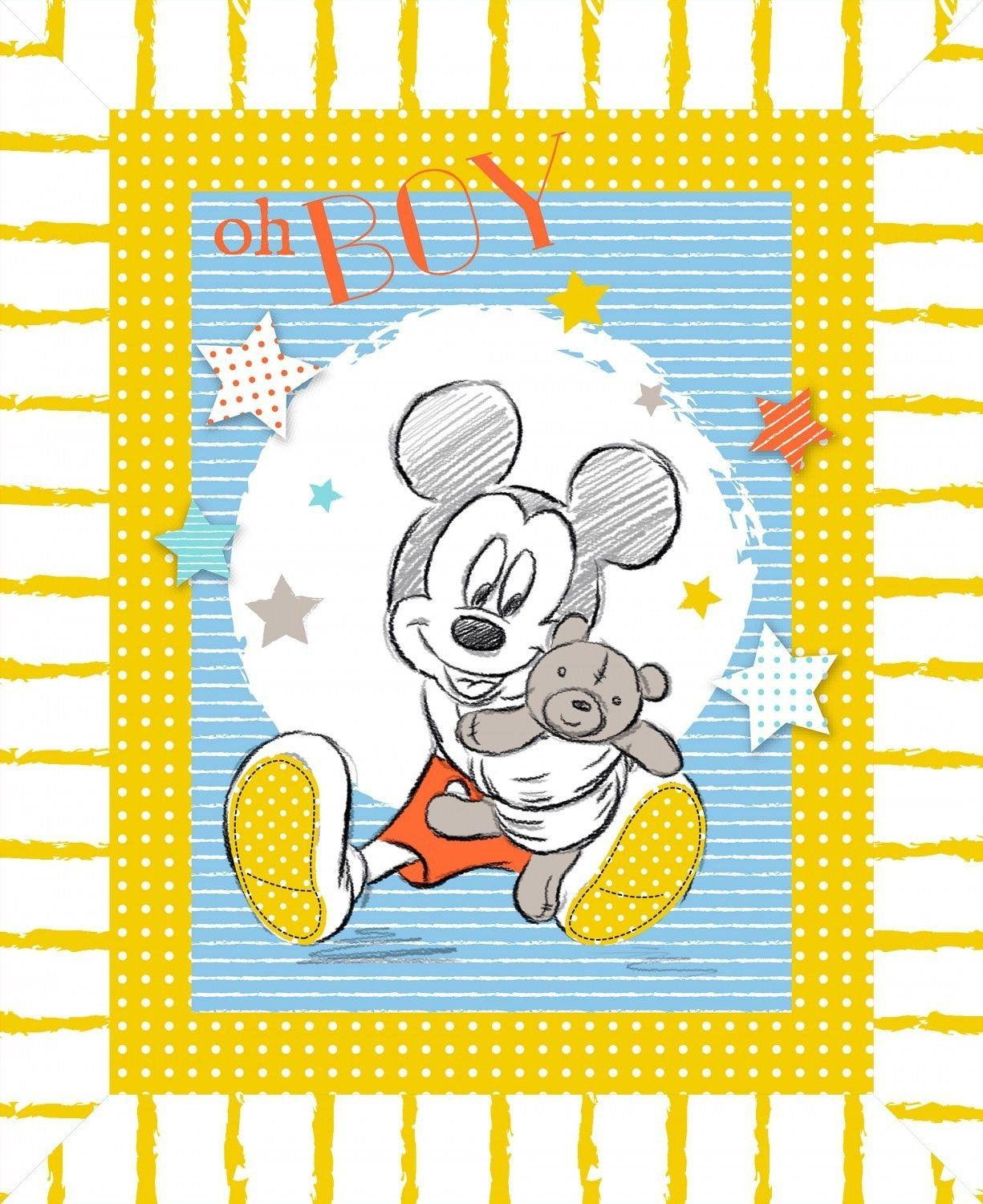 Minnie Mouse Cotton Fabric Panel Great for Quilting, Sewing, Craft Projects, a Childs Quilt /& More 44 x 35 Wide