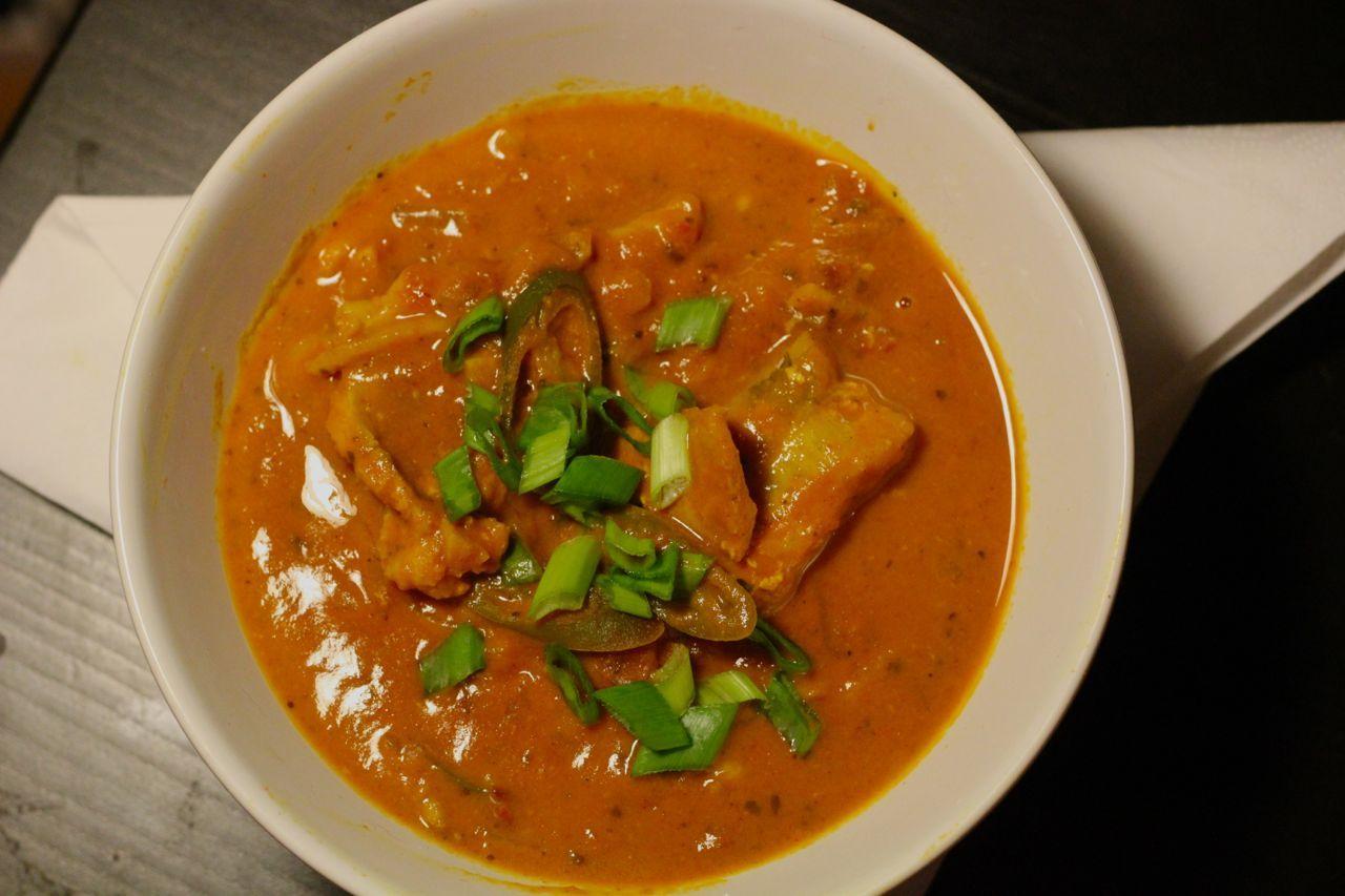 Keralan fish curry.