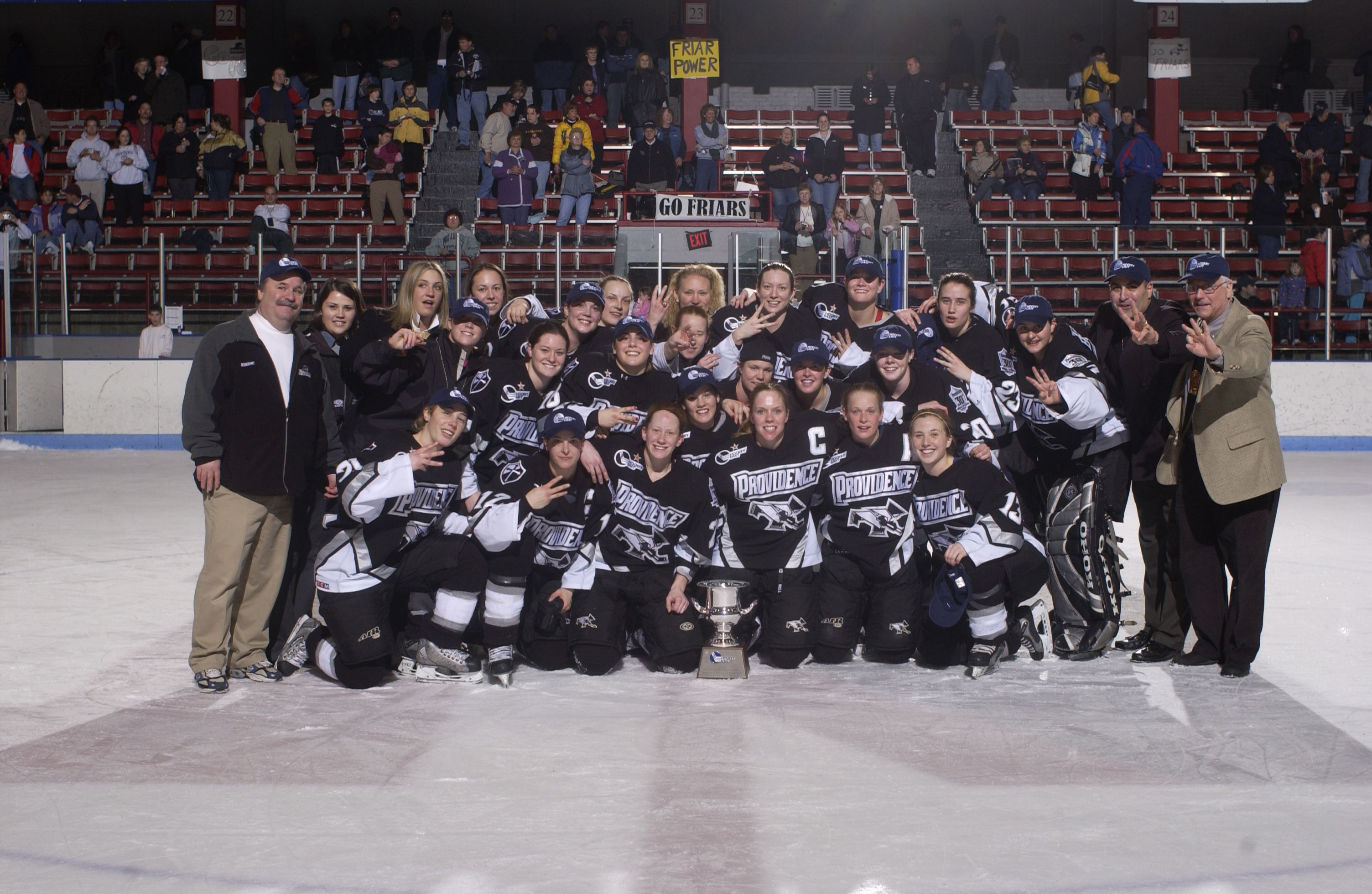 2004 Pc Women S Ice Hockey Team Becomes Hockey East Champs College Hockey Hockey Teams Ice Hockey Teams