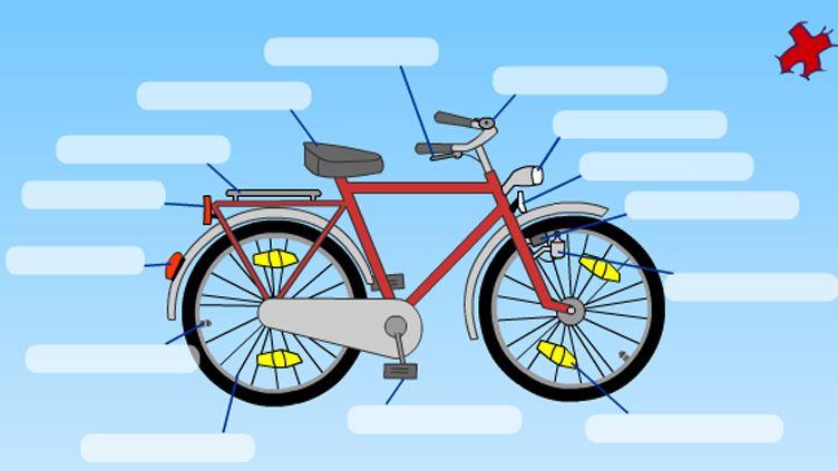 Skizze Fahrradteile Bild Swr Fahrrad Fahrradteile Velofahren