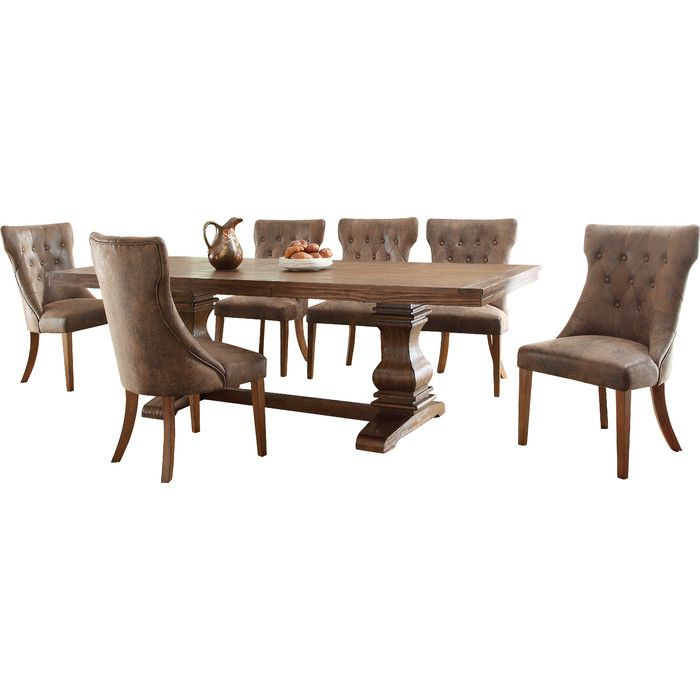 You Ll Love The Chilton 7 Piece Dining Set At Wayfair Great Deals On All Furniture Products With Free Table In Kitchen Wood