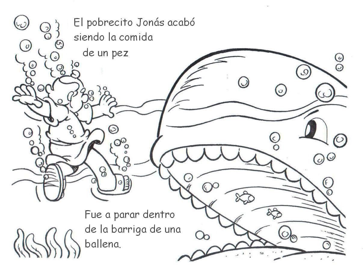 Printable coloring pages in Spanish