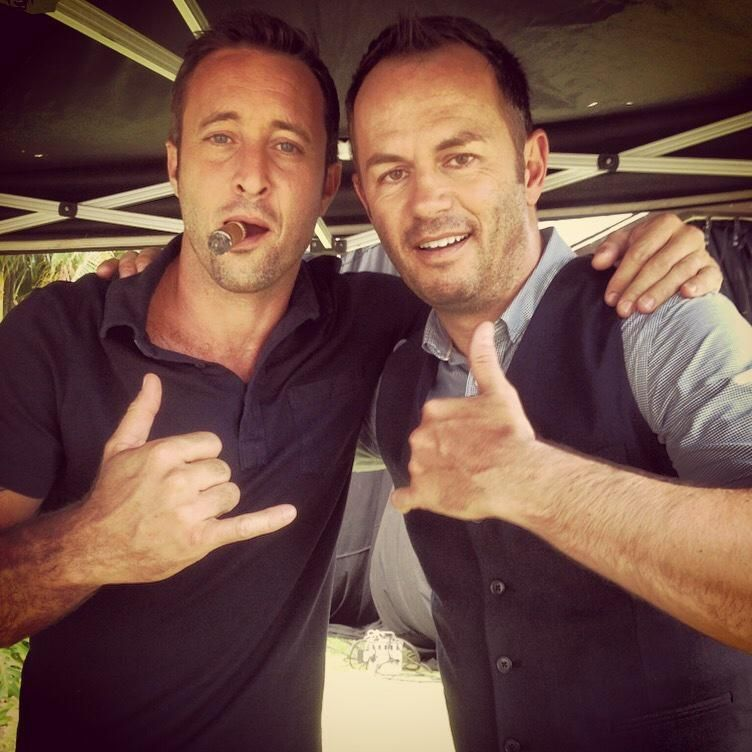 "♥♥♥  Greg Ellis on Twitter: ""We were mates off set, honest govner! #H50 #h50friday http://t.co/xt4OfQEkTN"""