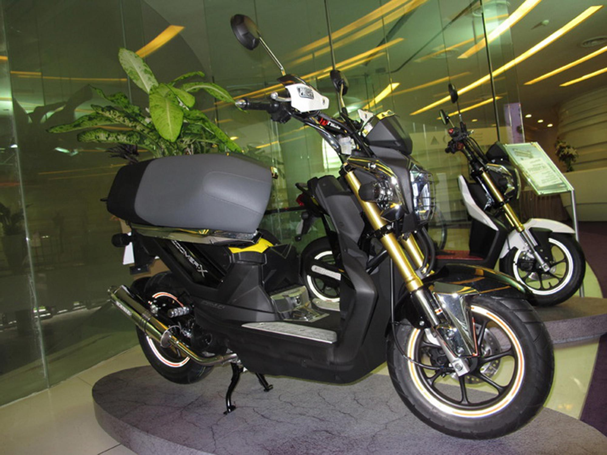 2013 Honda Zoomer X Thailand Review And Modification Luweh Com 2013 Honda Honda Black