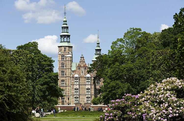 Rosenborg Castle - Exterior in summer