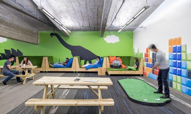 Văn phòng của người lớn khiến trẻ con cũng mê - VnExpress Đời sống
