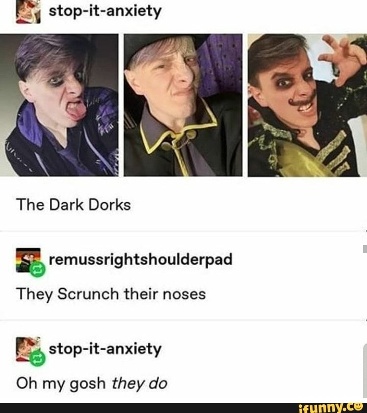 ª stop-it-anxiety & remussrightshoulderpad They Scrunch their noses % stop-it-anxiety – popular memes on the site iFunny.co #thomassanders #celebrities #sanderssides #thomassanders #virgilsanders #deceitsanders #remussanders #stop #anxiety #remussrightshoulderpad #they #scrunch #noses #pic