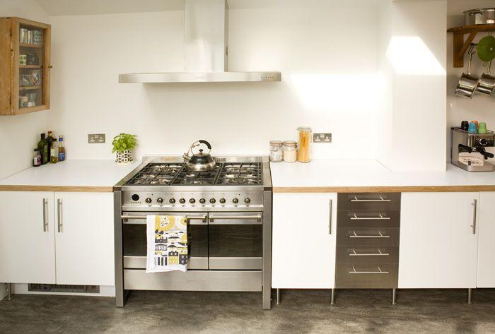 Formica birch ply kitchen by matt antrobus kitchen for Birch veneer kitchen cabinets