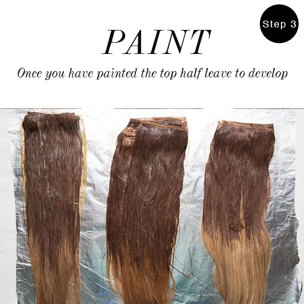How To Ombre Hair Extensions Dirty Looks Hair Extensions Hair