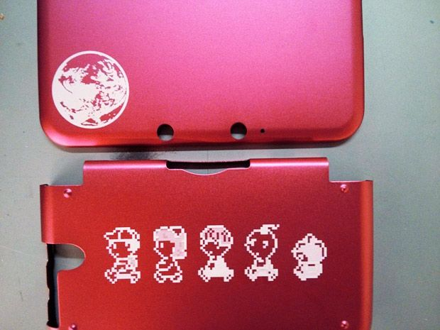 laser etched earthbound mother 3ds shell games pinterest