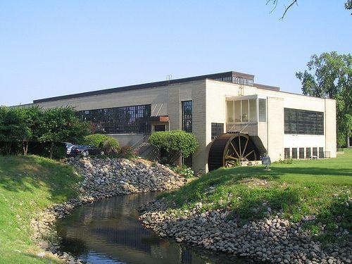 Ford Valve Plant Northville Mi Northville Light Brick Water