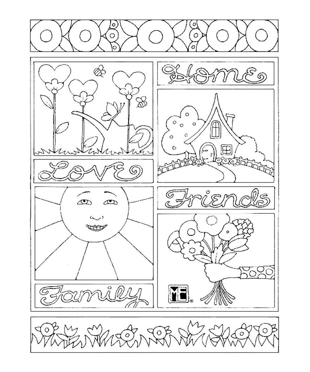Related image | Coloring books, Mary engelbreit, Coloring ...