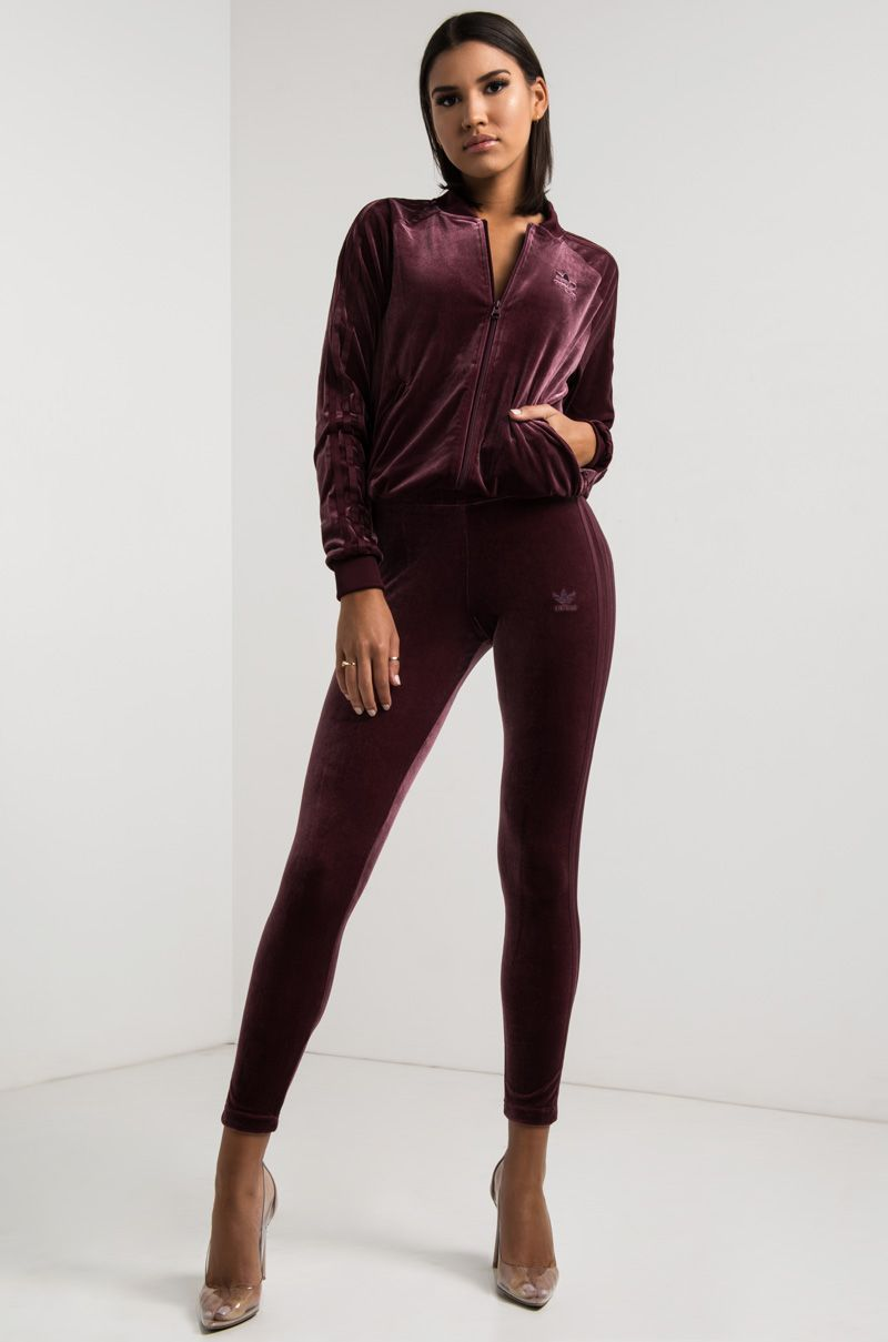 ADIDAS VELVET VIBES LEGGINGS - adidas - Clothing Brands ...
