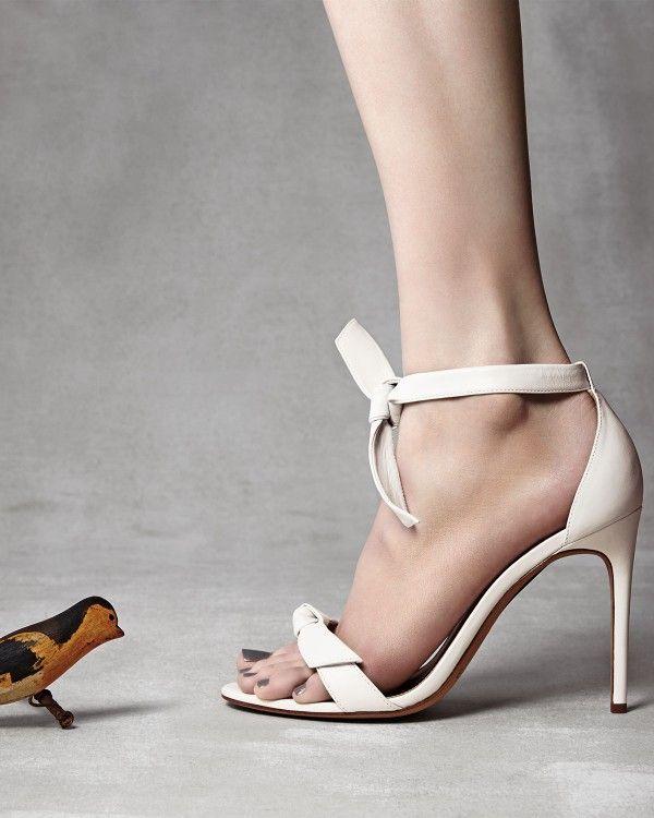 ALEXANDRE BIRMAN Tied ankle strap sandals xoUeqF