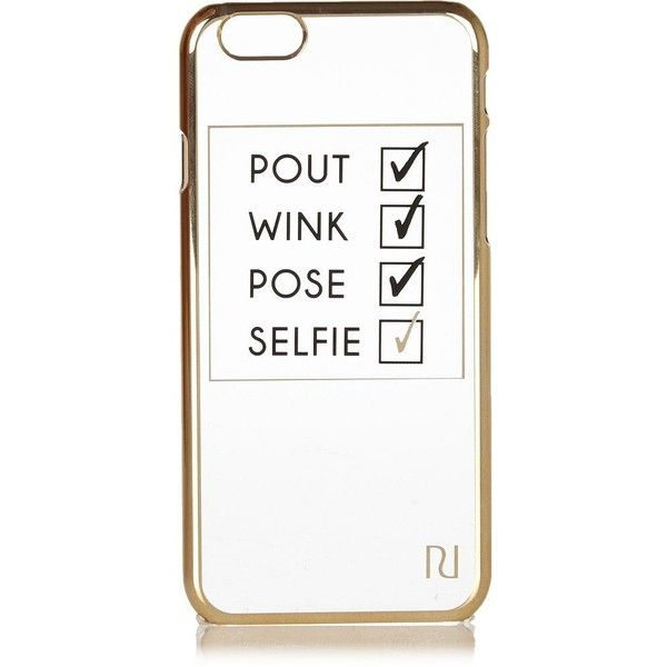 River Island White iPhone 6 checklist phone case ($20) ❤ liked on Polyvore featuring accessories, tech accessories, phone cases, phone, electronics, iphone cases, bags / purses, phone / tablet cases, white and women