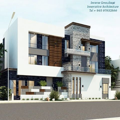 Modern Residence Concept Designed By Inverse Architecture Firm Kuwait Kuwaitcity Q8 Qatar