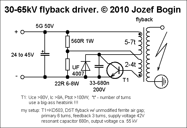 Improved single transistor flyback | tech2 in 2019 | Electronic
