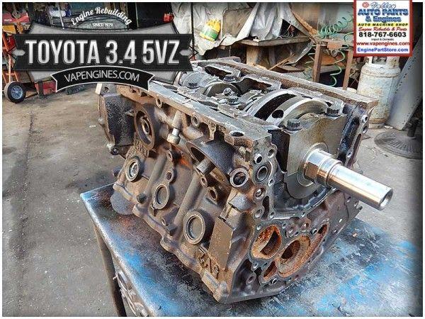 Toyota 3 4 5VZ Engine Rebuild project    Engine Rebuilding