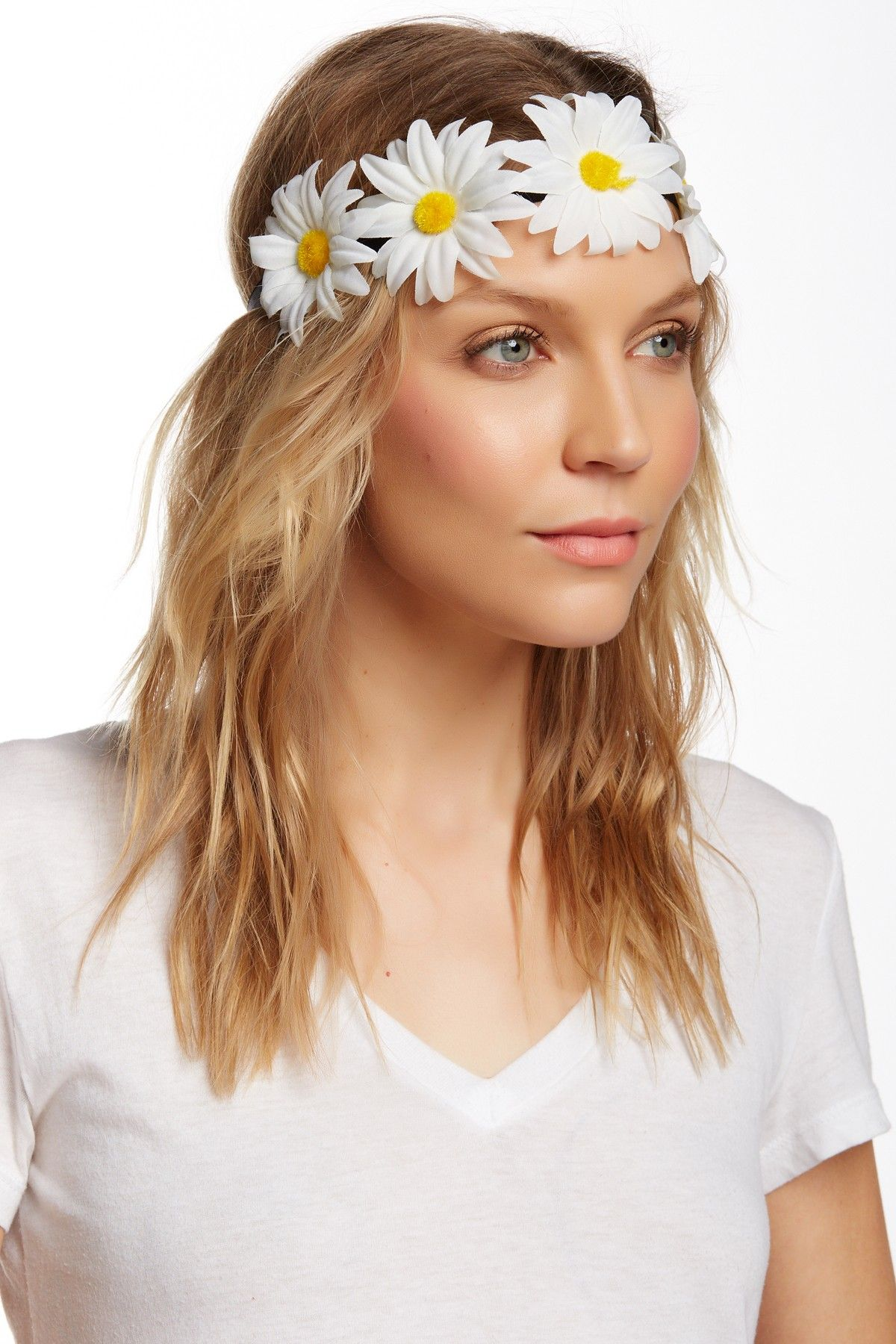 Free Press | Flat Daisy Headband | Nordstrom Rack  #streetstyle #flower