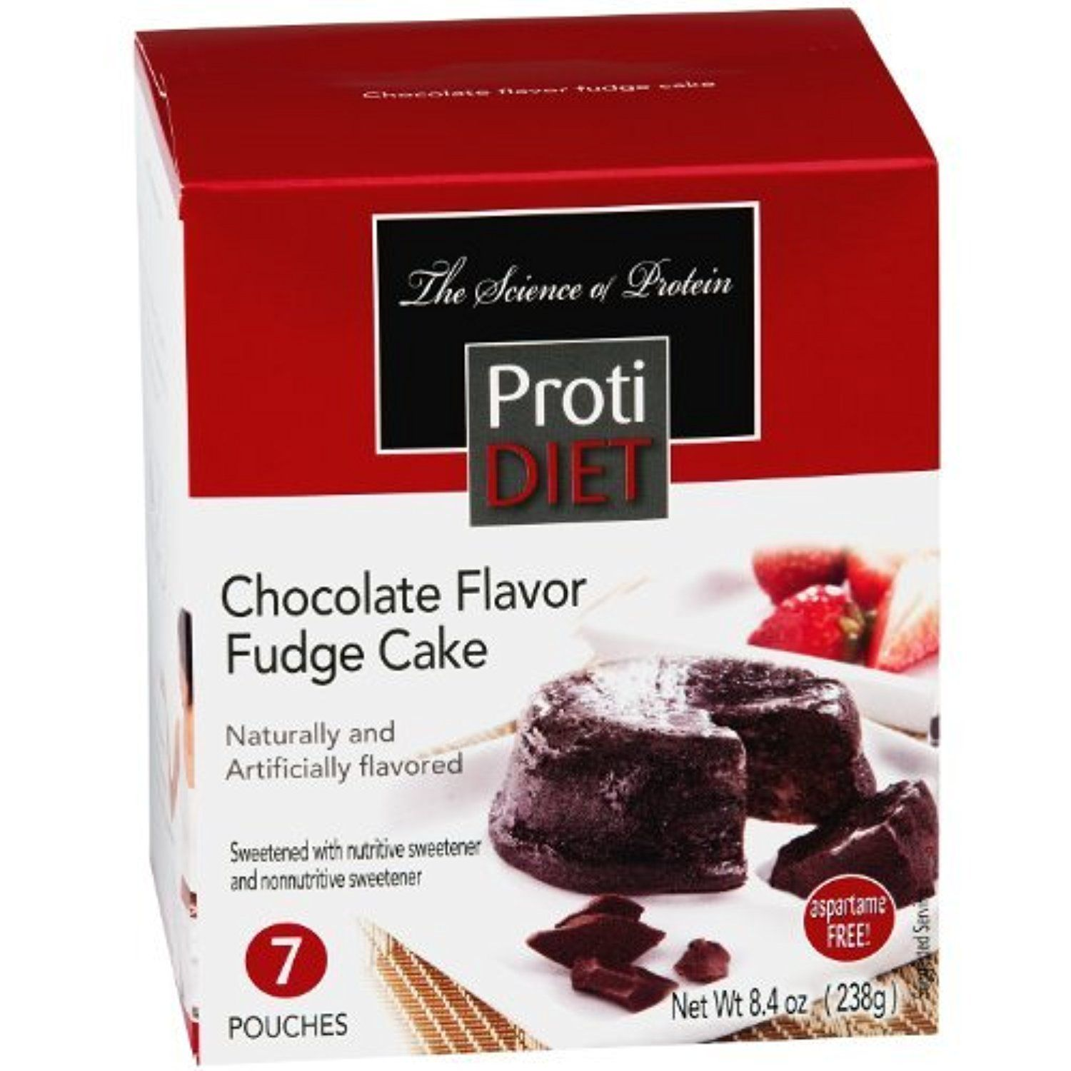 Protidiet High Protein Chocolate Fudge Cake Mix 7 Servings Box By Protidiet Awesome Products Selected By Anna Chocolate Diet Fudge Cake Chocolate Flavors