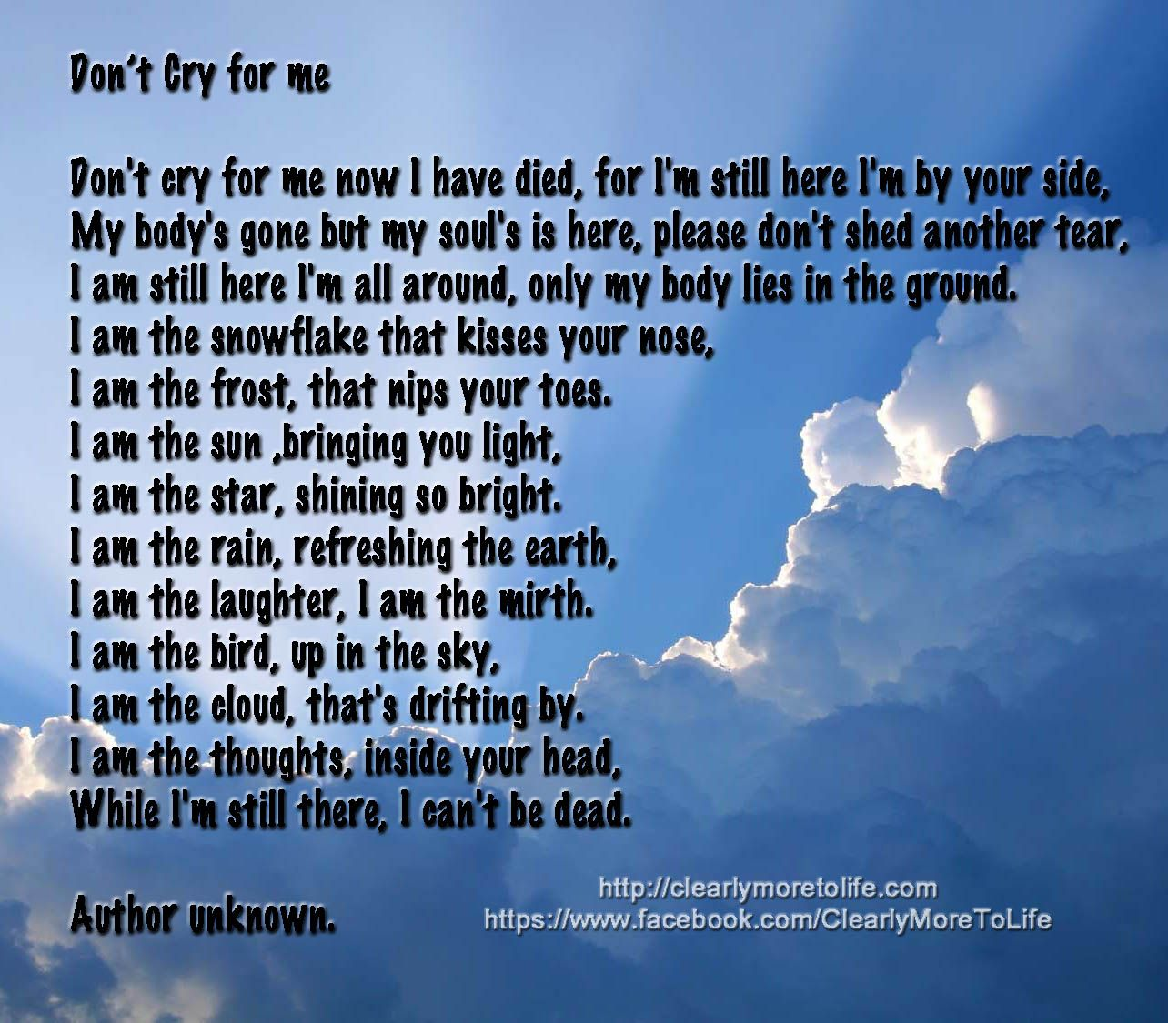 Cry and die inspirational quote motivational thoughts pictures - Don T Cry For Me Quote