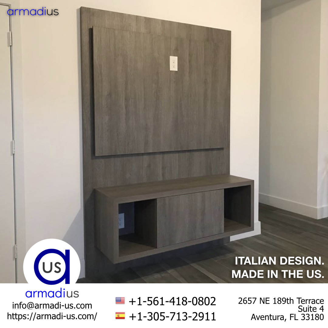 No Space Will Be Wasted With A Custom Furniture From Armadius See