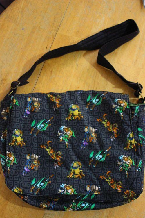 Legend of Zelda Messenger Bag by Lilalria on Etsy