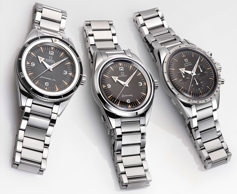 The new Omega 1957 Trilogy Limited Edition watches for Baselworld 2017 with images, price, background, specs, & our expert analysis.