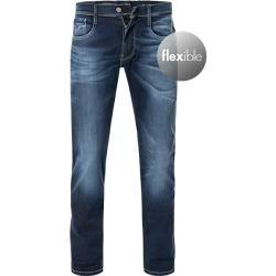 Photo of Replay jeans herrer, bomullsstrekk, blå replay