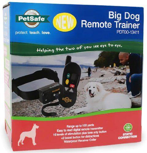 Petsafe Big Dog Remote Training Collar For Medium And Large Dogs