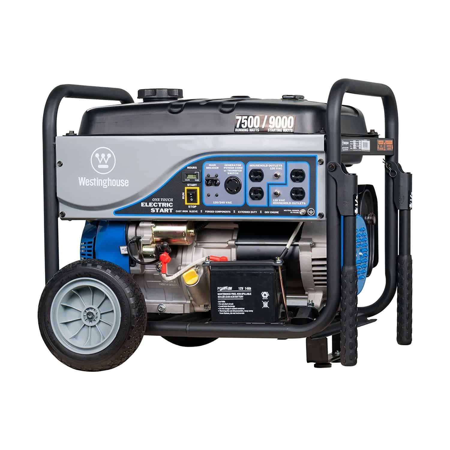 Westinghouse WH7500E Portable Generator Generator at Home Depot