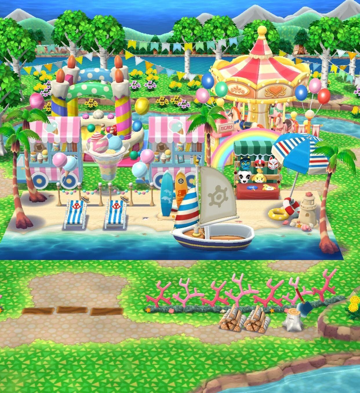 Beach Resort Pocketcamp Animalcrossing Animal Crossing
