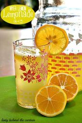 Myer Lemon Lemonade Küchengarten