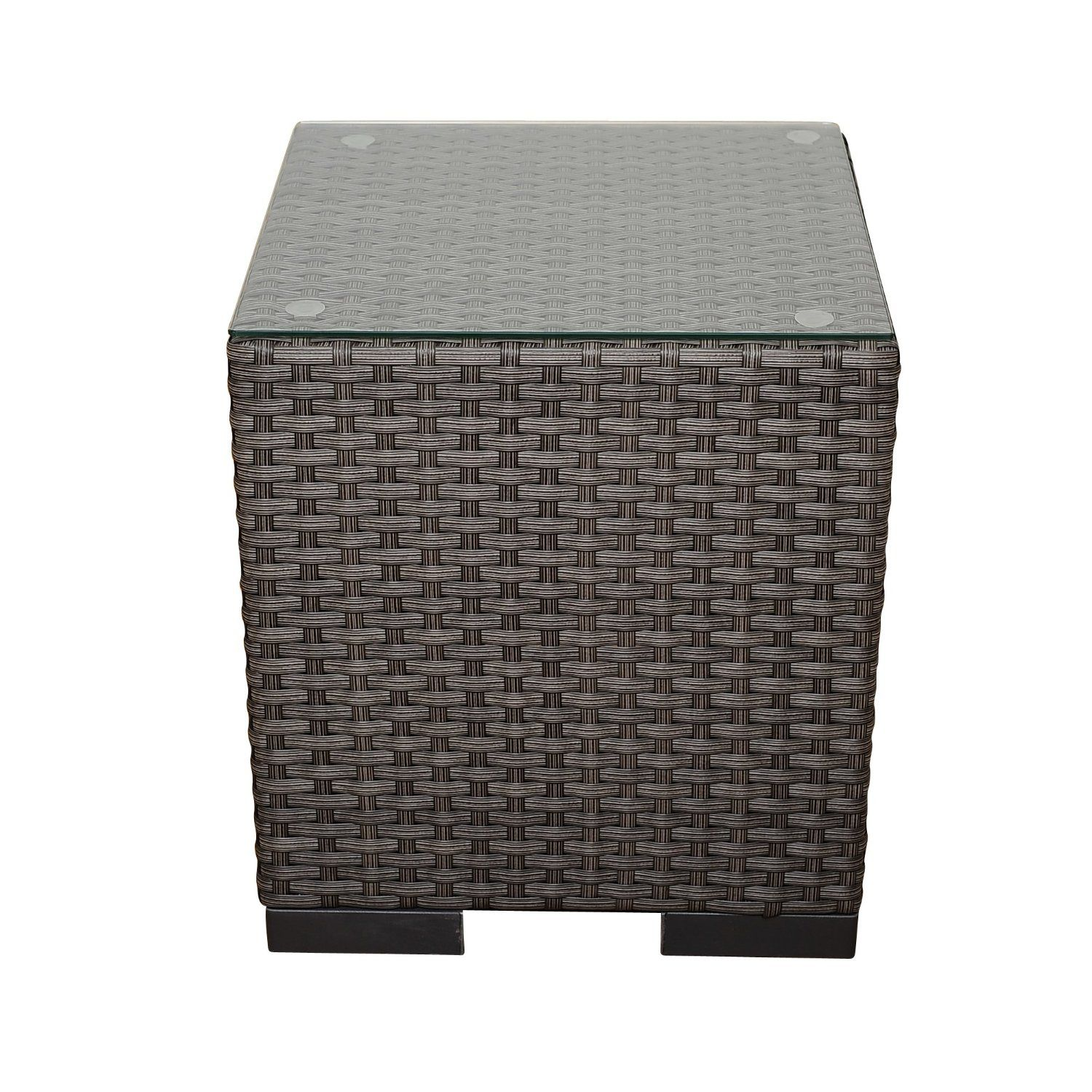 Robot Check Wicker Side Table Patio Side Table Havenside Home