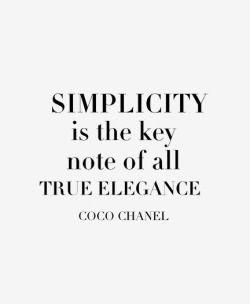 Simplify Q U O T E S Pinterest Fashion Quotes Coco Chanel