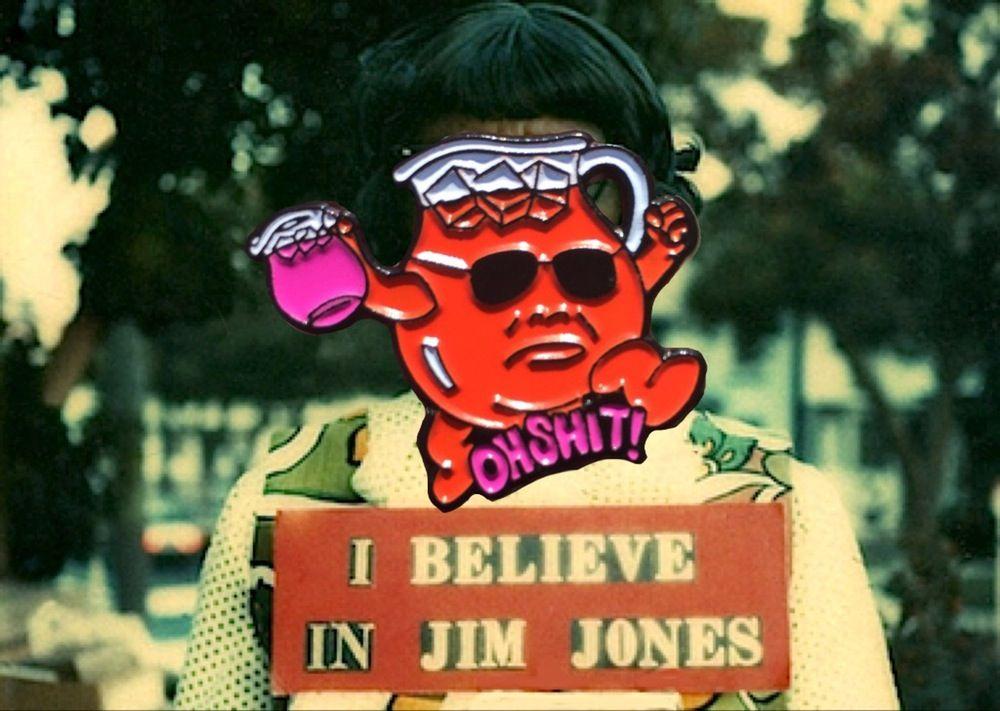 Jim Jones patch