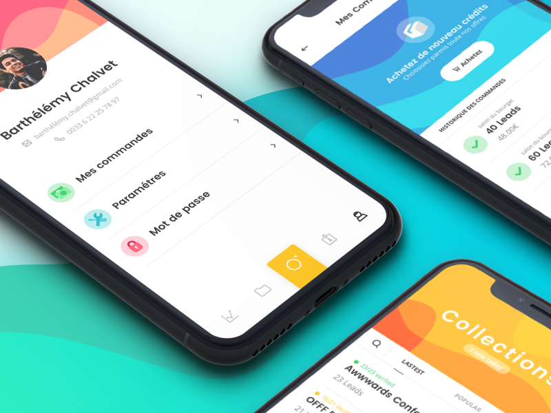 Kutsh - Your business cards saver | Ui inspiration, Ui ux and Business