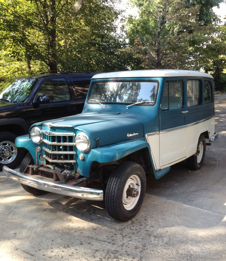 1961 Willys Station Wagon Photo Submitted By Harold Estes Willys Jeep Willys Willys Wagon
