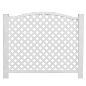 gatehouse 32in x 38in white outdoor privacy screen20