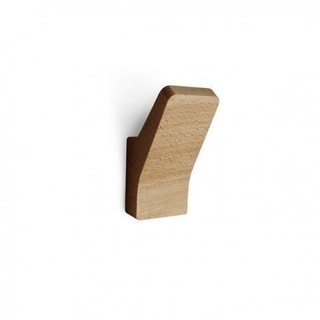 Wooden Decorative Hook In Beech Wood By Reine Mere En 2020 Patere Bois Pateres Salle De Bain Porte Manteaux