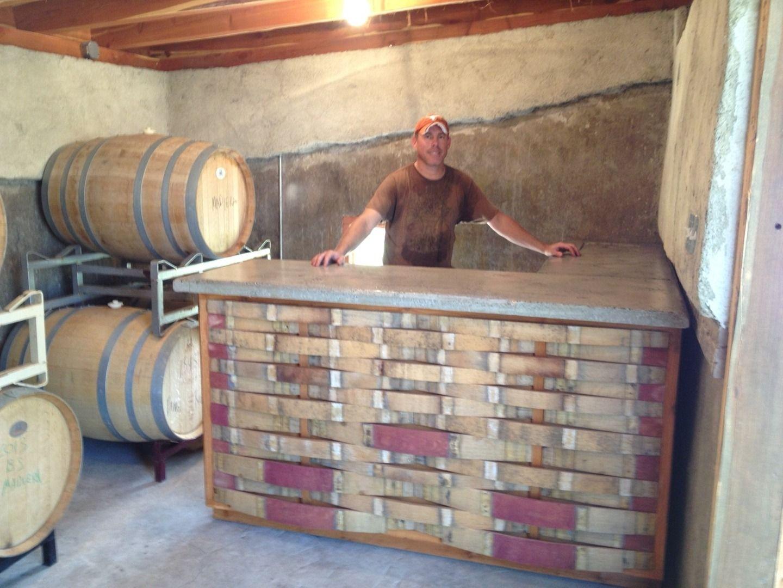 New wine bar at William Chris Winery Hye Texas Wine