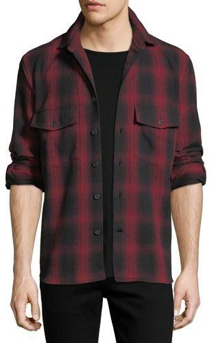 139bbf712371 Marcelo Burlon Iamens Check Flannel Shirt | Products | Checked shirt ...