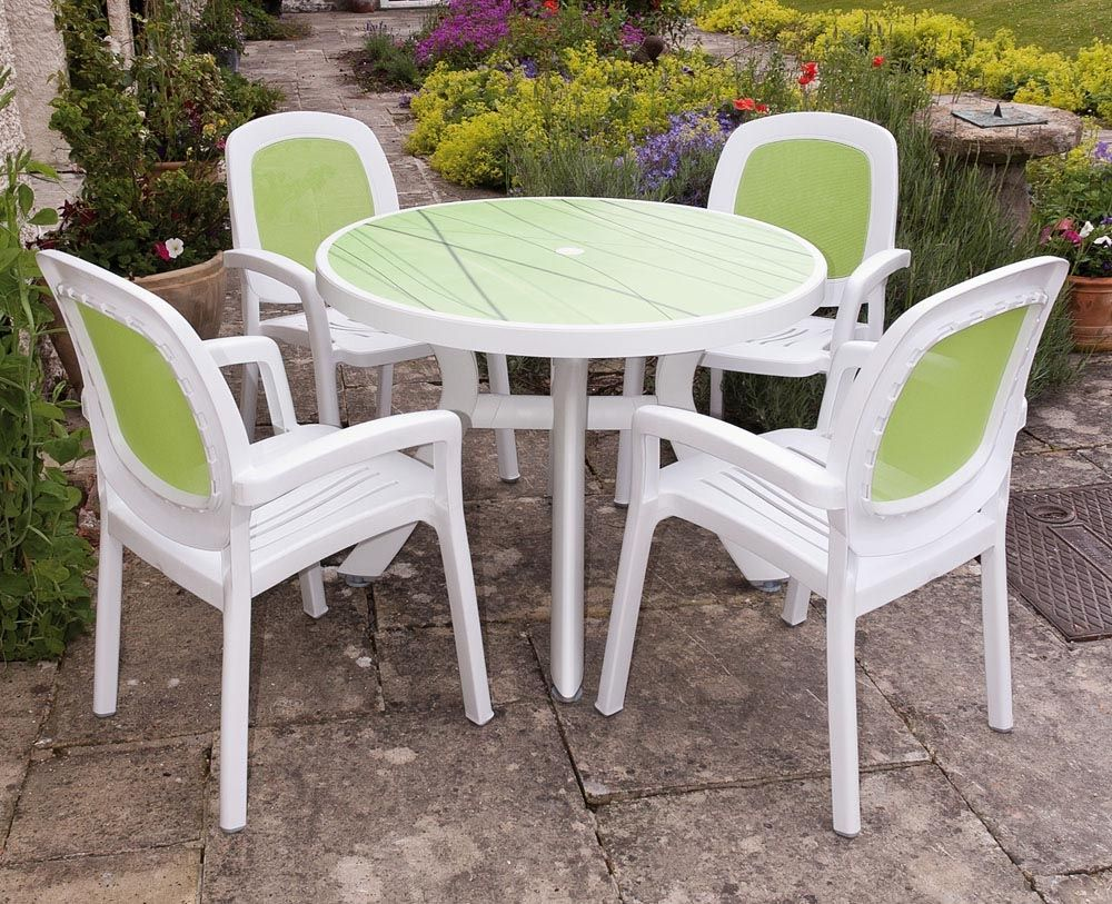 Plastic Outdoor Table And Chair Sets