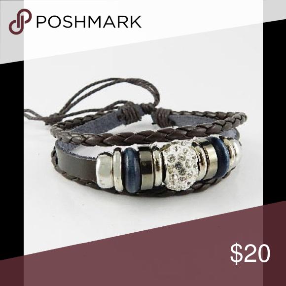4pcs Set Adjustable Bracelet NEW You get 4 pcs Set Crystal Adjustable Bracelets 🙂 great for up coming Holiday 😍 zdazzled Jewelry Bracelets