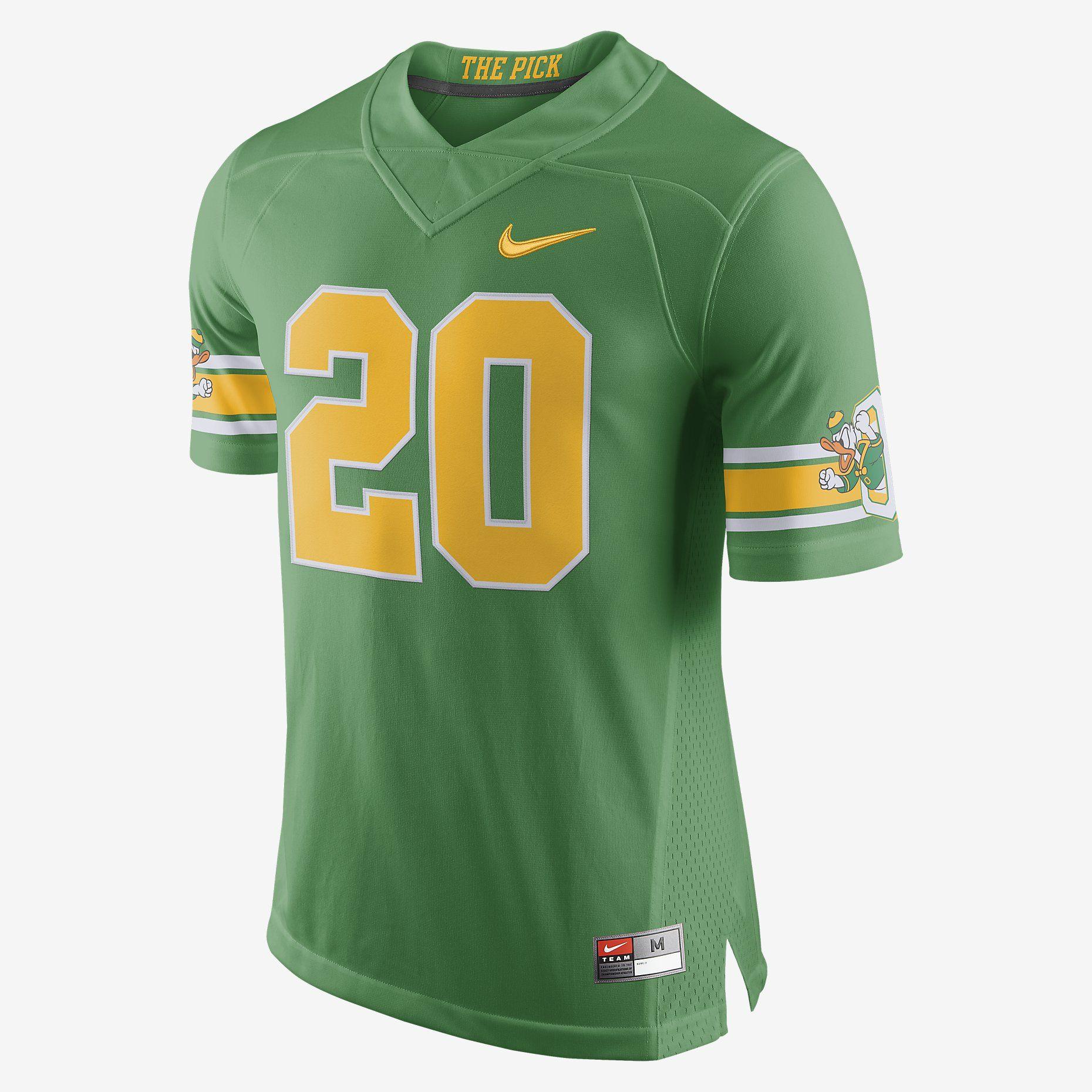 Nike football limited oregon alternate mens jersey