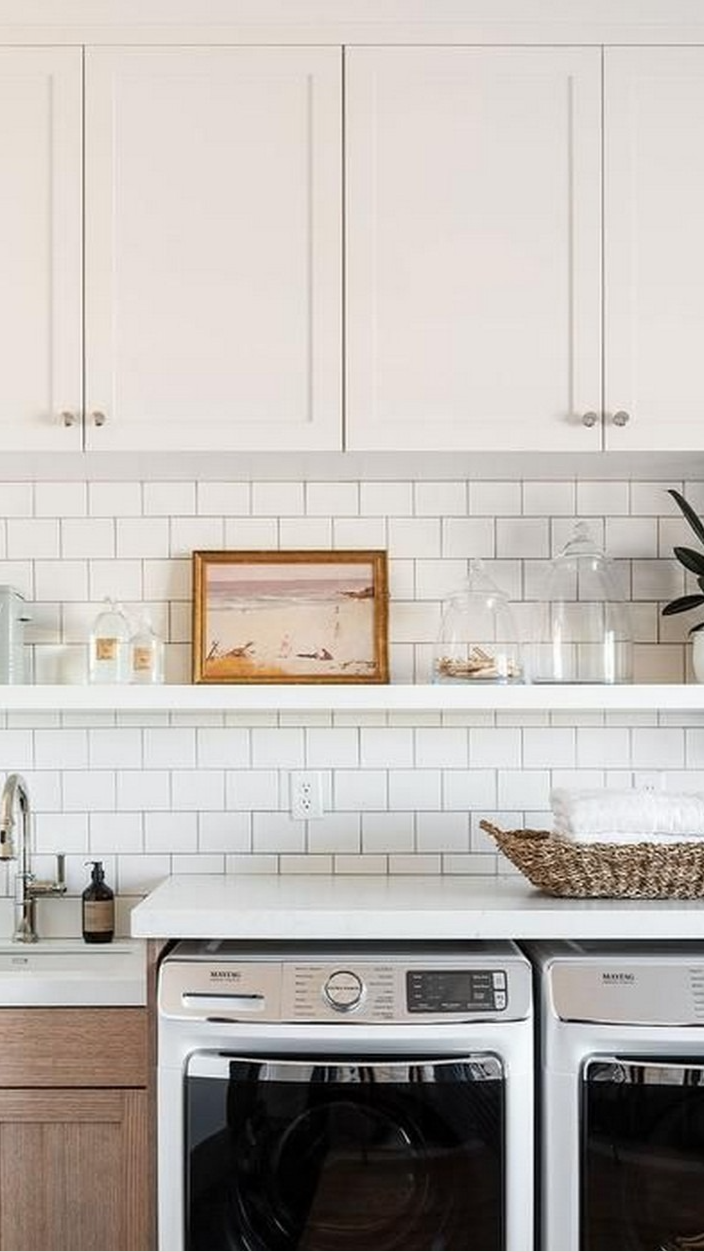 15+ Small but Seriously Stylish Laundry Rooms that